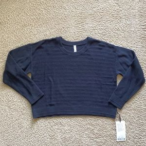 Lululemon Black Nurture & Nature Sweater Sz 12
